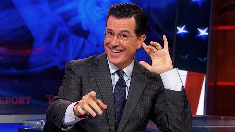 STE-PHEN! STE-PHEN! STE-PHEN! - THE BEST OF THE COLBERT REPORT