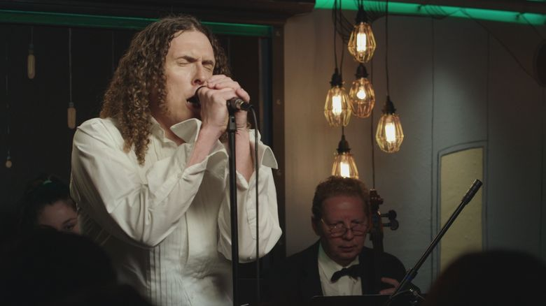"""WEIRD AL"" YANKOVIC STOPS BY WITH A QUARTET"