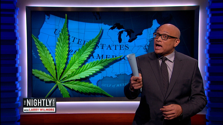 THE NIGHTLY SHOW - YES WE CANNABIS