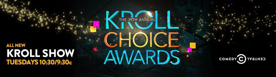 Kroll Choice Awards: Header